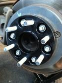 Колесные проставки 6*114,3 толщина ( 20-40mm )